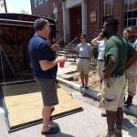 2015 - AmeriCorps volunteers - trail building