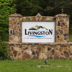 2013 - Livingston Welcome Sign
