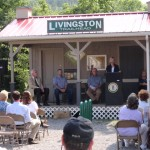 2013 - Livingston Trail Town Application & Designation