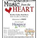2011 – Hospice Fund Raising Benefit